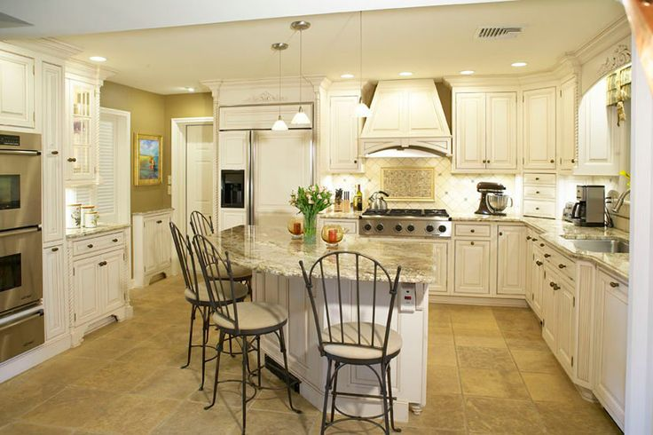 Angled kitchen island rounded granite for the home for Cape cod kitchen design ideas
