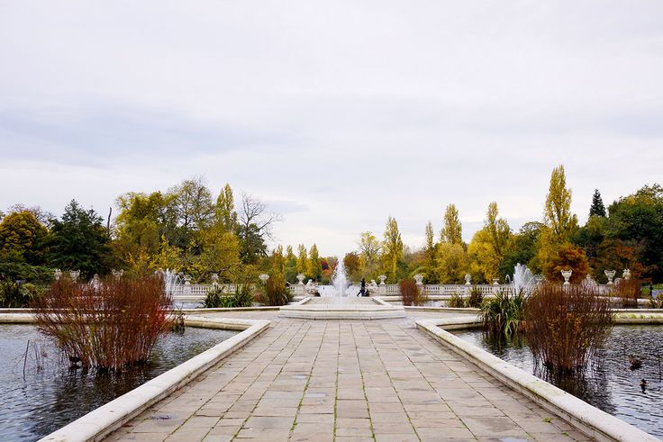 Autumn in London by Amé Story - Italian Garden at Hyde Park