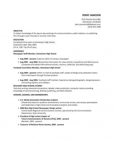 212 777 3380 FREE HELP WITH HOMEWORK NYC college resume for a Free - example of resume for high school student