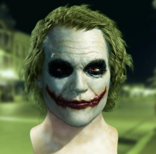 Joker Face Paint #7 of 20