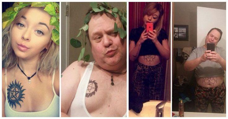 Este papá se convirtió en el mejor troll al recrear las fotos de su hija ¡Lol!
