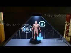 Insanely Cool Iron Man J.A.R.V.I.S 3D Hologram Pyramid [Video] - Want to see what Iron Man's J.A.R.V.I.S interface would look like in real life? Here you go! Enjoy this insanely cool Iron Man 3D hologram pyramid.
