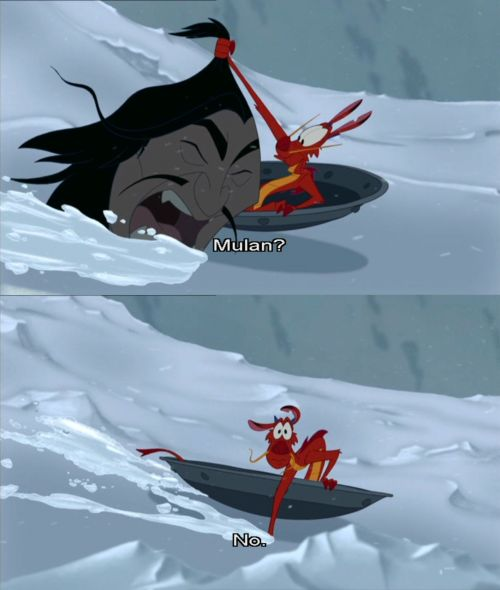 DAY 11 - Favorite Animal Sidekick - Mushu (Mulan)