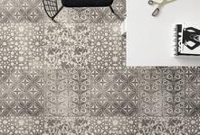 Die Kollektion Powder ist vom Beton als urbanes Stilelement inspiriert und gestaltet private wie öffentliche Bereiche. In 5 Farben konzipiert, besticht die Kollektion durch ihre unregelmäßigen Strukturen und weiche Farbschattierungen. Sechskantformate, Mosaike und originelle Muster erweitern die Kompositionsmöglichkeiten des neuen Steinzeugs Powder.