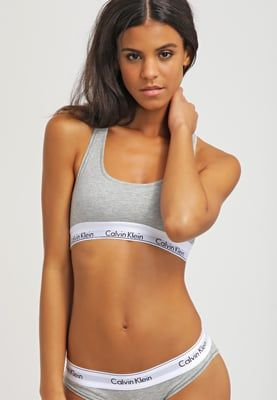 Calvin Klein Underwear MODERN COTTON - Bustier - grey heather - Zalando.de