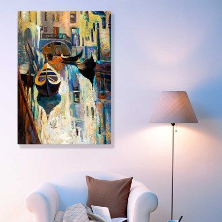 Tela em Canvas Canaux de Venise