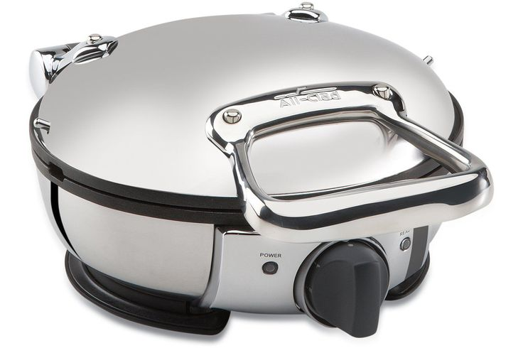 All-Clad 99012Gt Stainless Steel Classic Round Waffle Maker,Silver (8400000928)