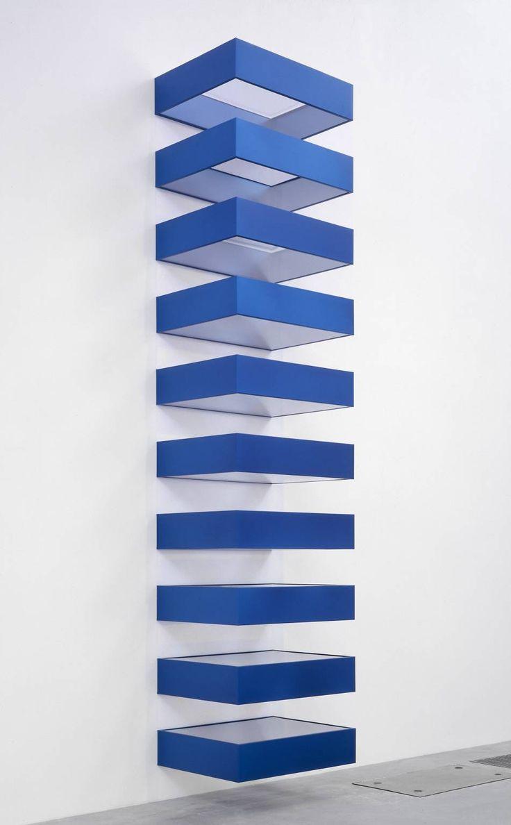Sans titre, Donald Judd, 1990 (prototype en 1965)