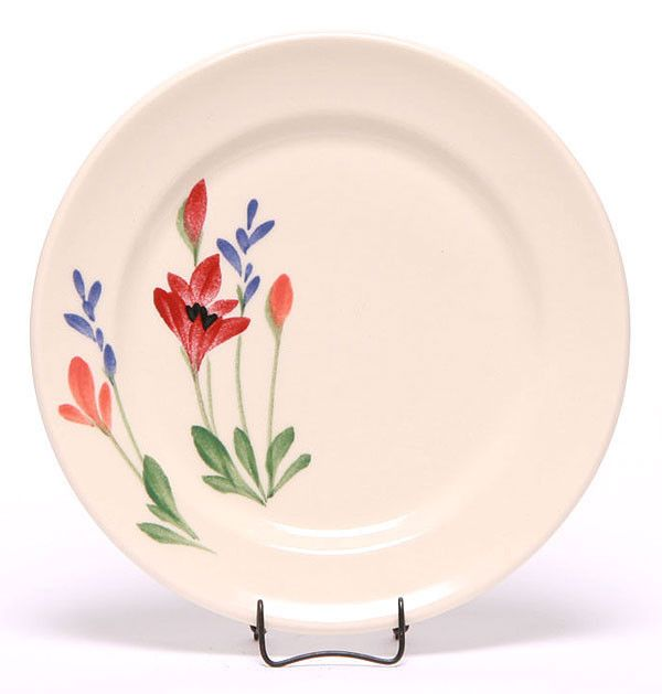 "Emerson Creek Pottery These ceramic salad plates are the perfect compliment to your Emerson dinnerware set. They measure 7"" in diameter. Handmade and hand-crafted in Virginia, all Emerson Creek Potter"