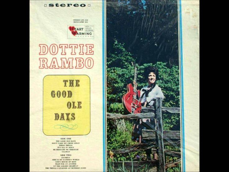 Dottie Rambo God's House Of Rest Southern gospel music