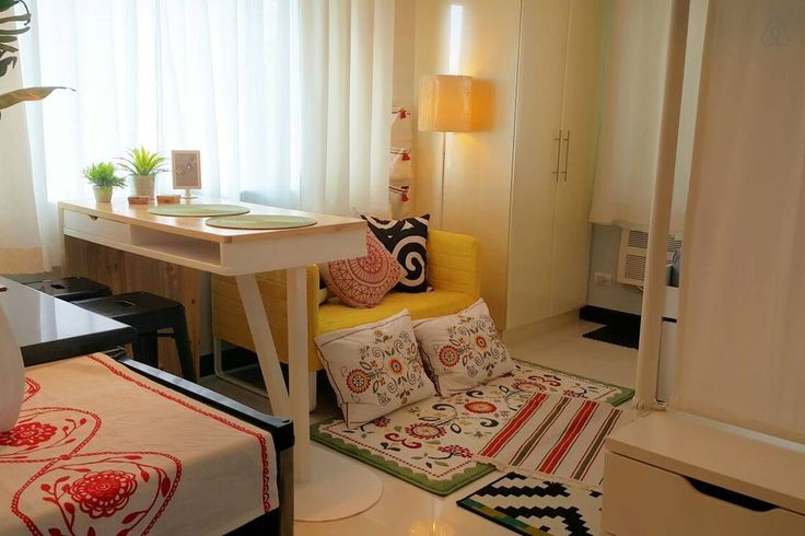 Check out this awesome listing on Airbnb: CHEAP FINDS! Fresh Bohemian Studio - Condominiums for Rent in Taguig
