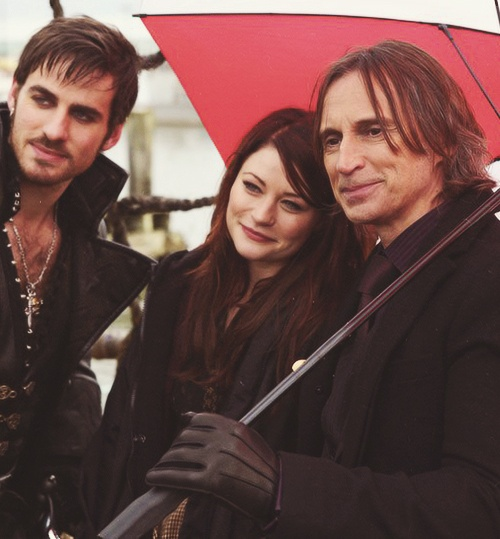 Oh my word, I'm obsessed with Once Upon a Time!! - Mr. Gold AKA Rumpelstiltskin & Belle French & Captain Hook