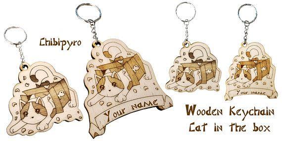 Cat box keychain laser name   #chibipyro #artisan #craft #shop #leather #wood #woodburning #fire #fan #art #artisan #craft #handmade #etsy #shop #pyro #pyrography #burn #burning #fire #drawing #woodburner #cork #recycled #purse #comb #hairbrush #note #book #sketch #tobacco #pouch #bookmark #pochette #box #pencil #case #pendant #keychain #fox #cat #animal #kawaii