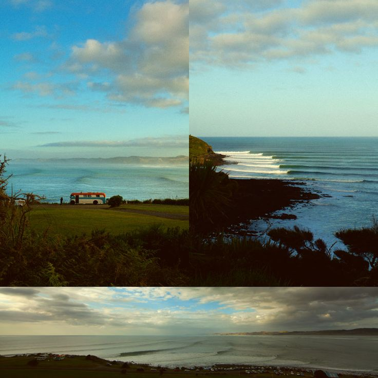 Raglan, New-Zealand.... famous for its surf breaks