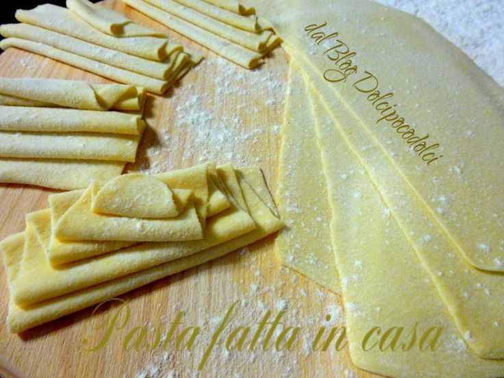 Pasta fatta in casa -