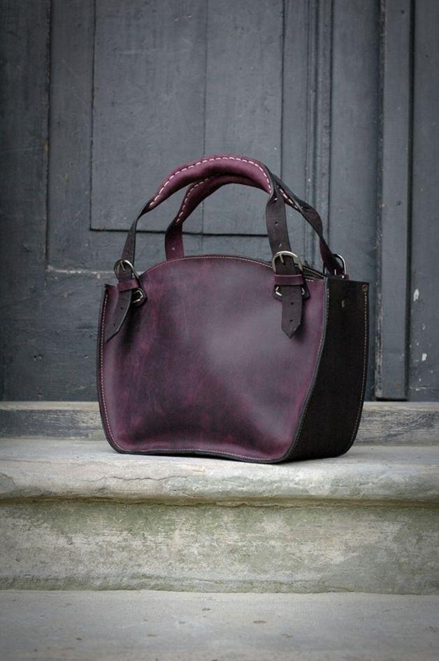 Sacs en cuir, sac en cuir à la main LADYBUQ est une création orginale de ladybuqartstudio sur DaWanda
