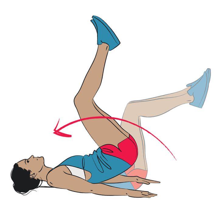 Untere Bauchmuskeln trainieren: Unteres Bauchfett