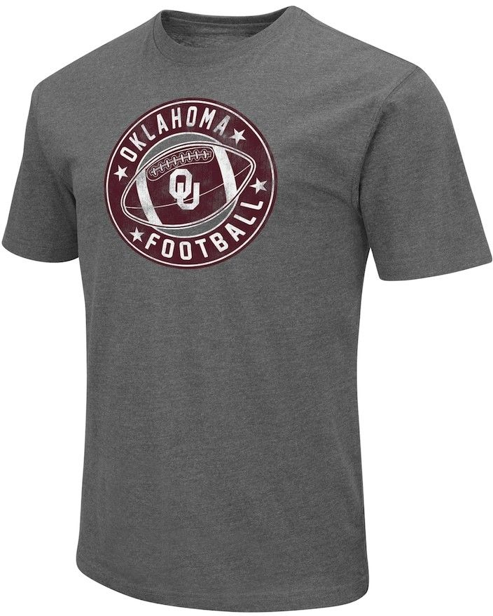 Campus Heritage Men's Campus Heritage Oklahoma Sooners Football Tee