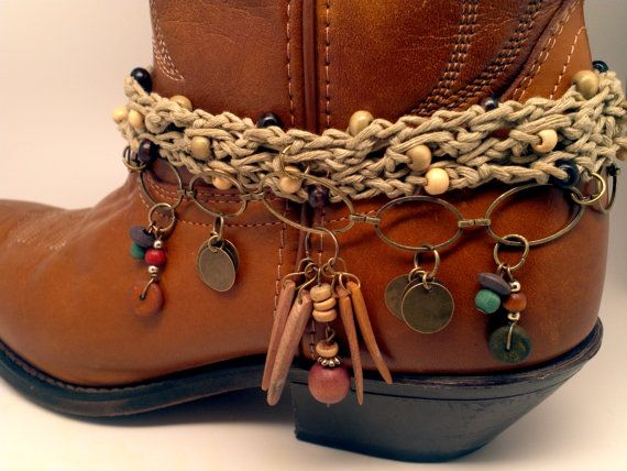 Boot Bracelet for making a big statement. This by McIversRevivers, $25.00