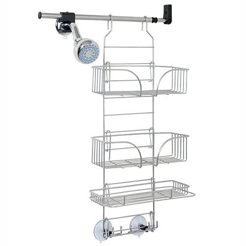 Zenna Home Make-A-Space Side Mount Shower Caddy