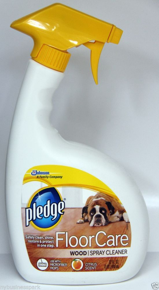 Pledge Floor Care Wood Spray Cleaner Safely Clean Shine Restore & Protect 32oz ❤ #Pledge