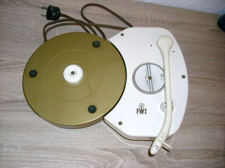 Plattenspieler FWZ zum Einbau in Phonoschrank od Kombi Anlage vintage