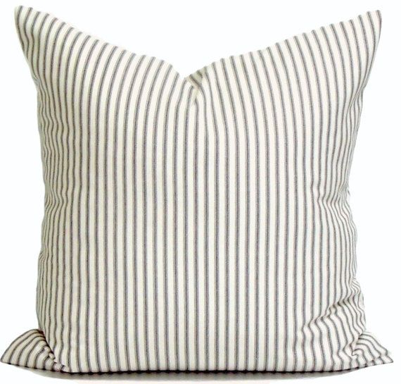 Best 25 Ticking stripe ideas on Pinterest  Pillow talk