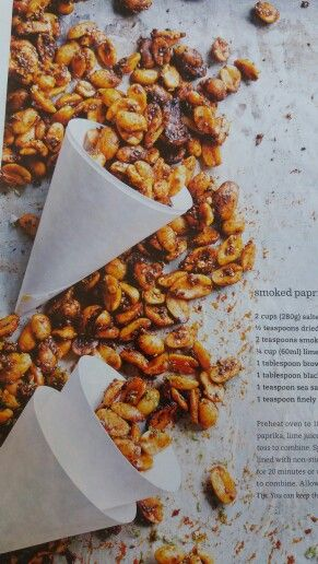 Smoked paprika, chilli and lime peanuts DH84 p52