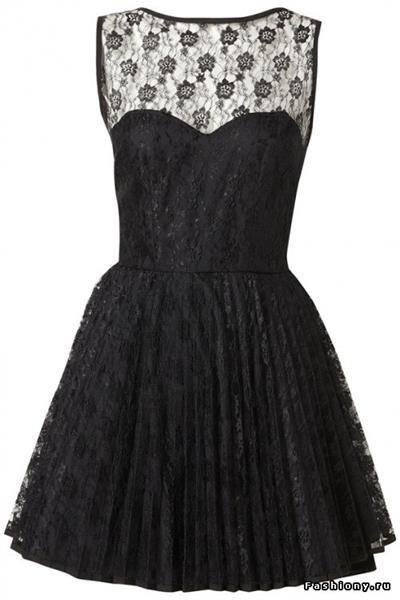 Маленькое черное платье эскизы как сшить