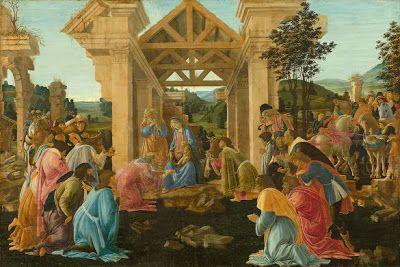 Άννα Αγγελοπούλου: Πίνακες ζωγραφικής με θέμα τα Χριστούγενα: H γέννηση του Χριστού