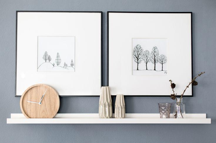 25 wanddeko ideen. Black Bedroom Furniture Sets. Home Design Ideas