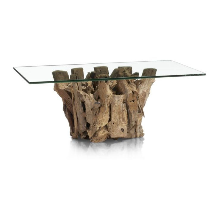 Driftwood Coffee Table | Crate and Barrel