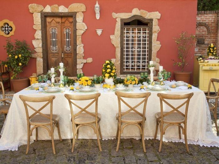 Almoço na Toscana!
