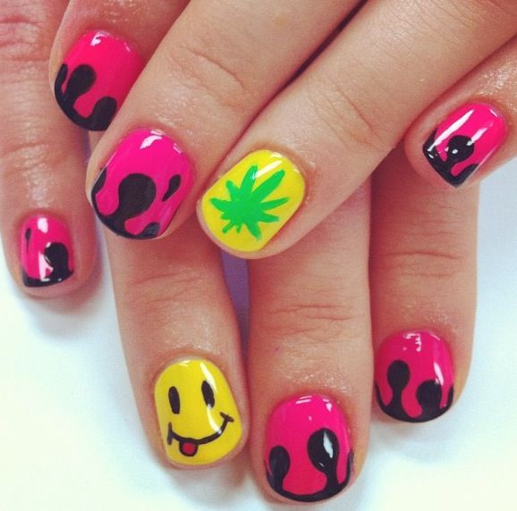 Madeline Poole nails