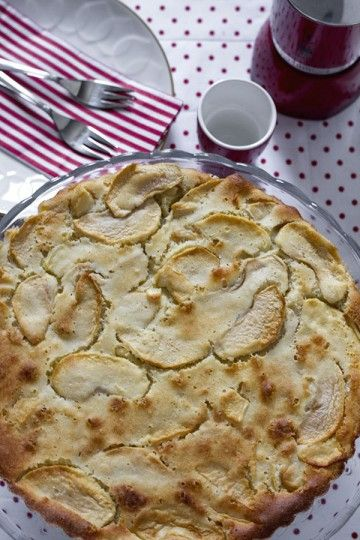 Włoska tarta z jabłkami
