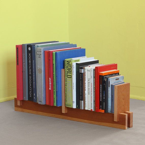 Reclaimed Pine Book Stand on Etsy, $88.00