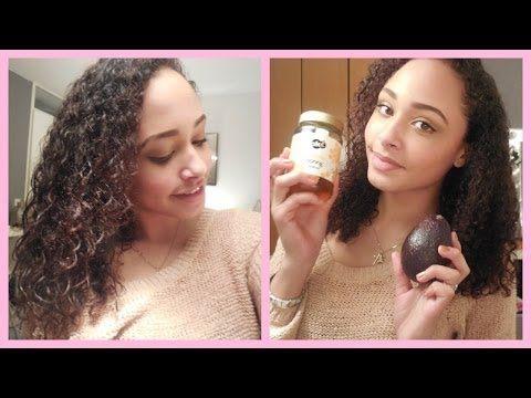 ▶ DIY Haarmasker voor KRULLEN! | Droog en Pluizig haar - YouTube