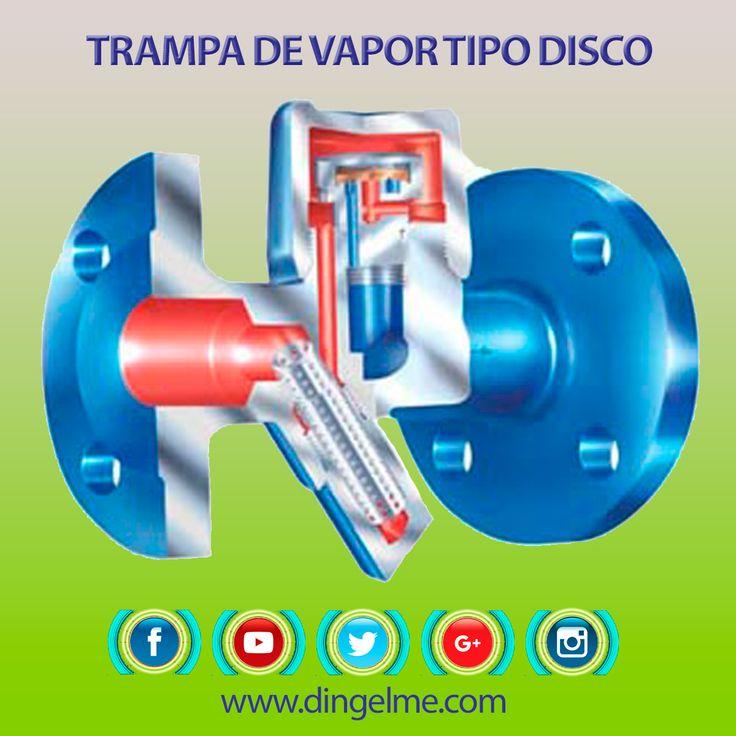 Las trampas de #vapor son un tipo de #válvula automática que filtra el vapor #condensado y #gases no condensables como lo es el #aire esto sin dejar escapar al vapor.  #Dingelme #Combustion #Quemadores #Gasnatural #Calderas #Hornos #Industrial #Colombia #Medellin | DINGELME SAS