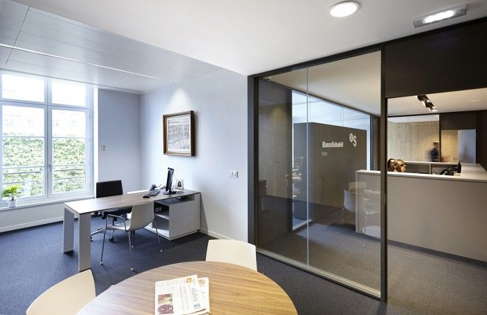 Despacho dirección, nuevas oficinas corporativas de Banco Sabadell en París