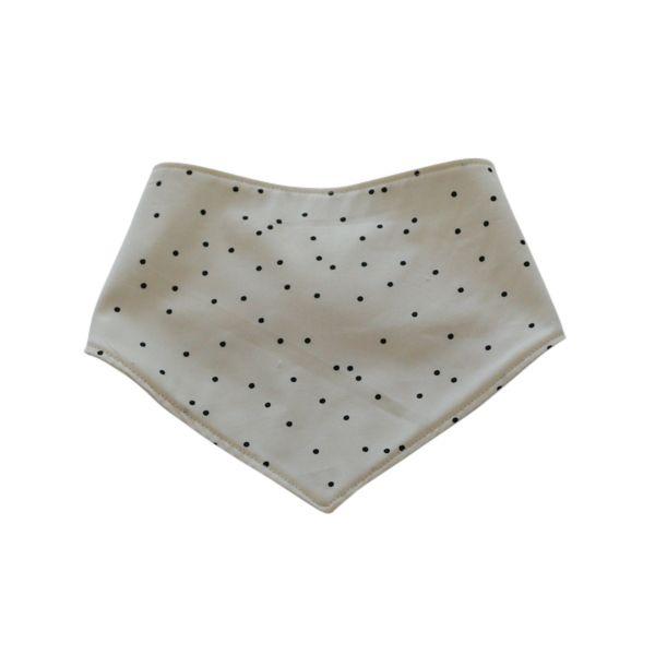 Stylish bibdana made with cotton fabric. Handmade bib. Bandana style bib.