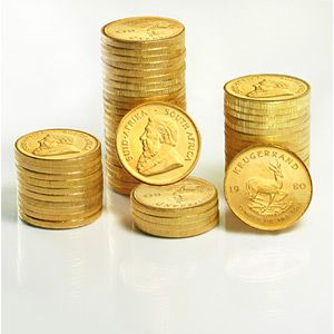 The 1 oz Gold Krugerrand is a handsome Gold bullion coin that appeals to both investors and collectors. Each of these South African Gold Krugerrands comes in Brilliant Uncirculated condition and contains 1 oz of 22-karat Gold.