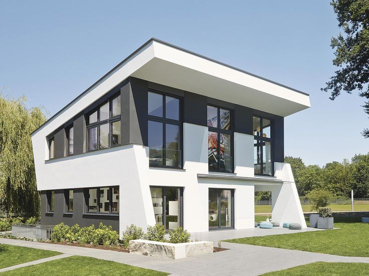 Doppelgarage modern pultdach  42 best Fertighaus images on Pinterest | Gable roof, Modern homes ...