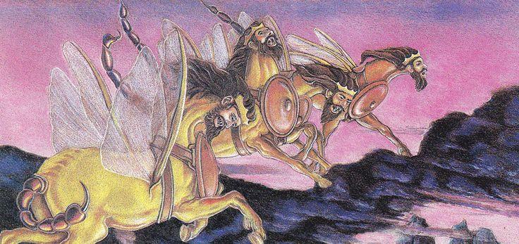 Locusts Of Revalations- Biblical Symbol: Horse-like Beings