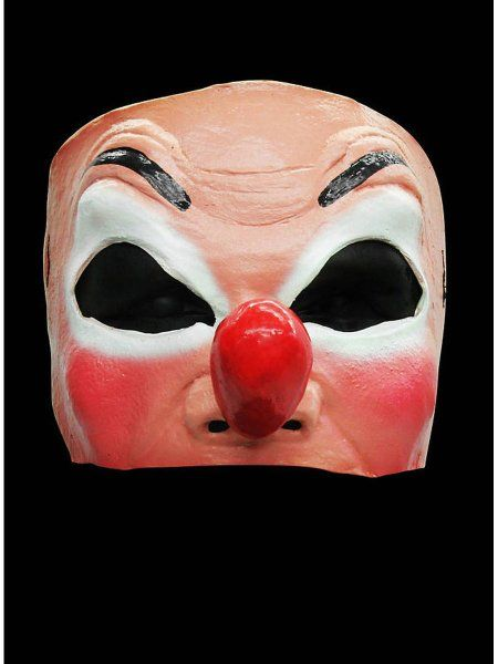 "https://11ter11ter.de/47143836.html Latex Halbmaske ""Clownsgesicht"" #11ter11ter #maske #latex #halloween #horror #fratze #freak #clown #horrorclown #creepy"