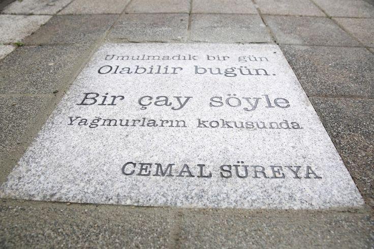 Cemal Süreya Şiirleri Kaldırımlarda   Edebiyat Haber Portalı