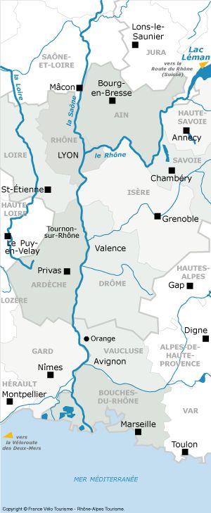 ViaRhôna : 700 km d'itinéraire sur vélo route et voie verte le long du Rhône — France Vélo Tourisme - Tous les itinéraires sur vélo routes e...