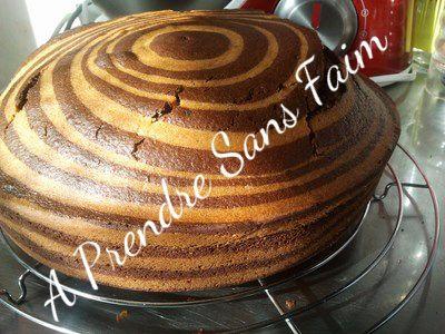 A Prendre Sans Faim: Gâteau tigré de Lorraine Pascale http://www.aprendresansfaim.com/2014/08/gateau-tigre-de-lorraine-pascale.html