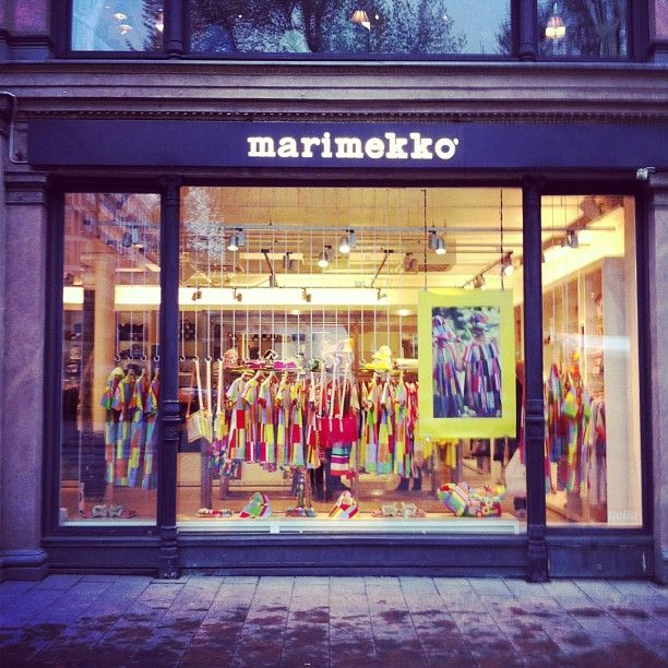 A trip to Helsinki would not be complete without a visit to the famous Marimekko Flagship Store.