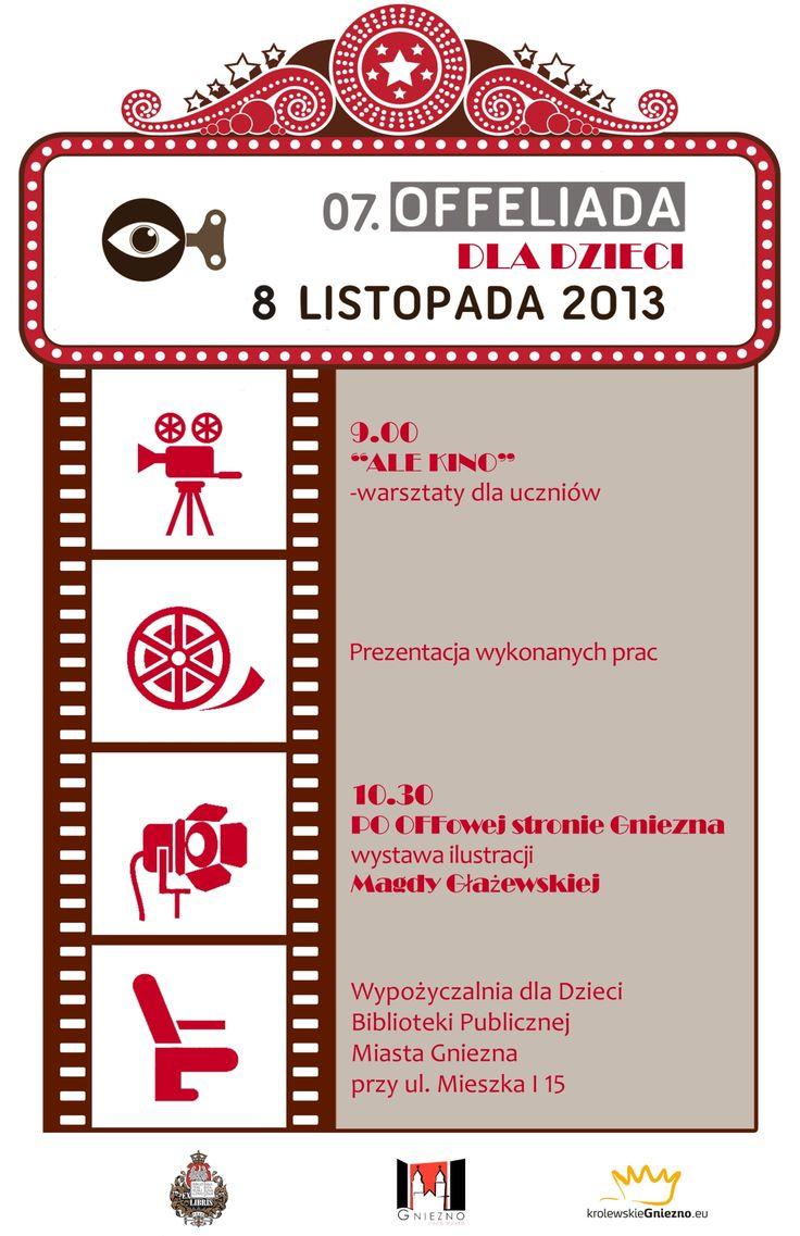 Offeliada dzieciom! Special invitation for children for our film festival!