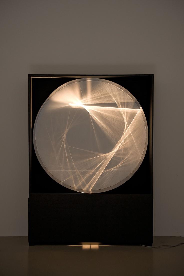 Julio Le Parc || Continuel lumière cylindre (1962)